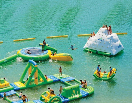 kids N adults giant inflatable floating water park