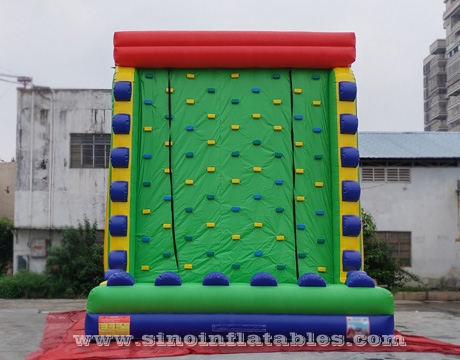 adults inflatable rock climbing wall