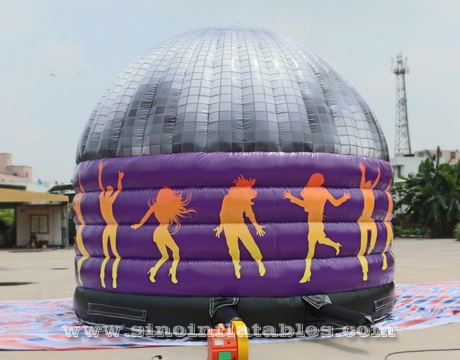 kids N adults party inflatable disco dome bouncy castle