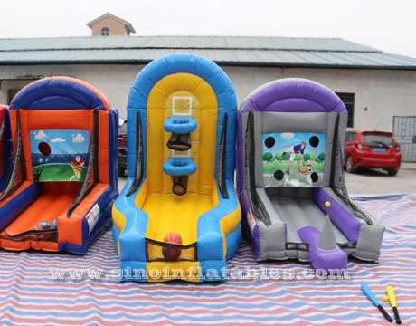 kids N adults interactive fun inflatable carnival games