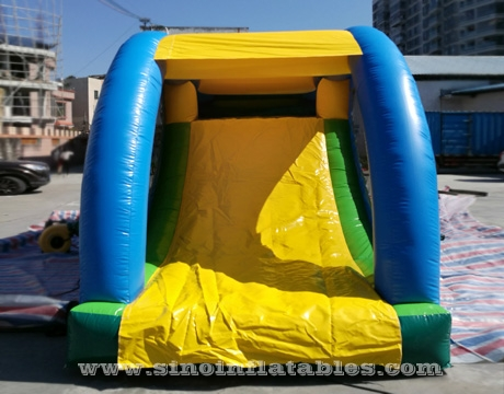 monkey king kids inflatable tunnel bouncy castle with slide