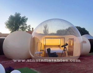 Clear inflapable Bubble Lodge Hotel