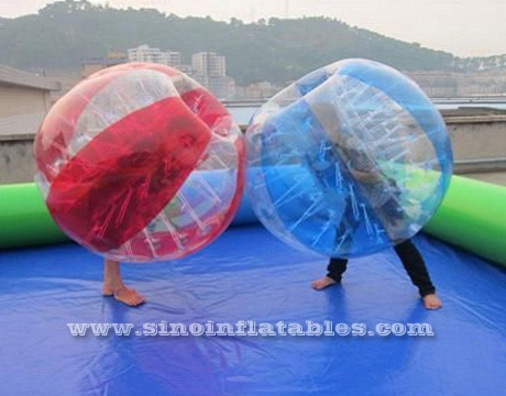 Zorbing inflable